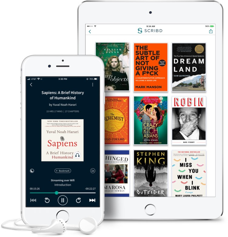 Scribd on all your devices