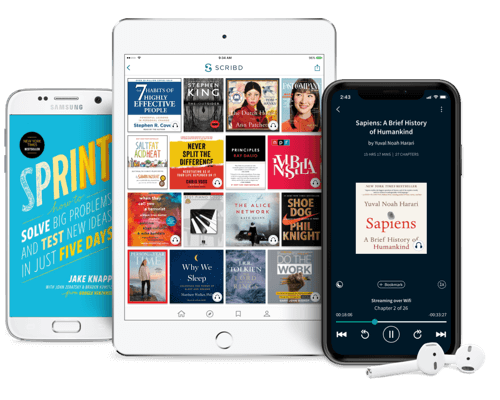 Unlimited reading on any device