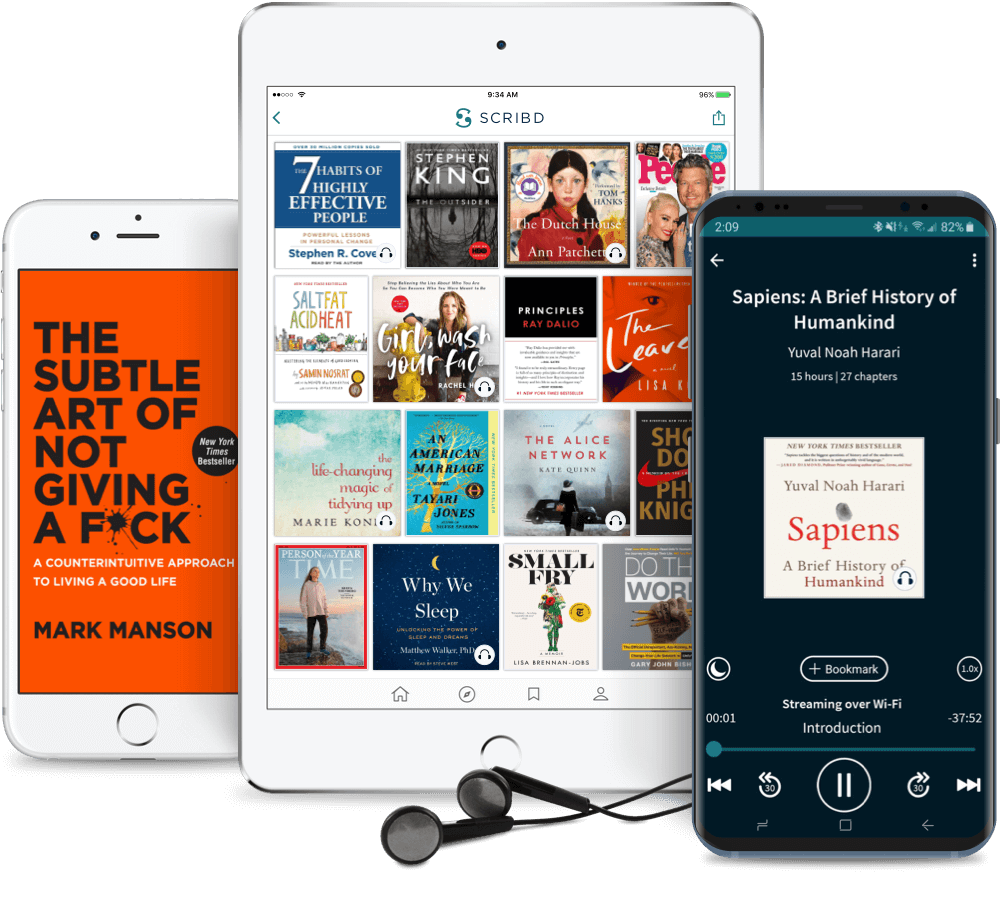 Discover The Best Ebooks Audiobooks Magazines Sheet Music And More Scribd
