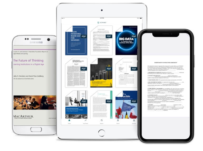 Scribd is also available for your mobile devices.