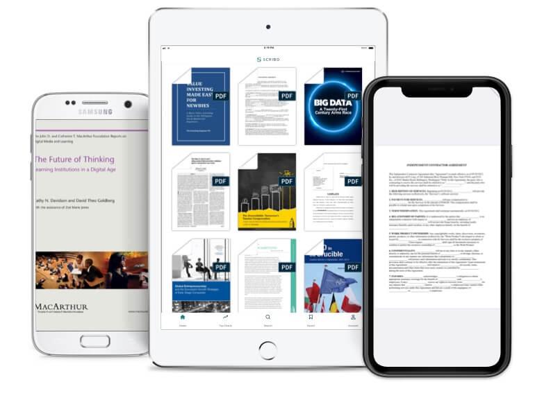 Scribd также доступен для мобильных устройств.